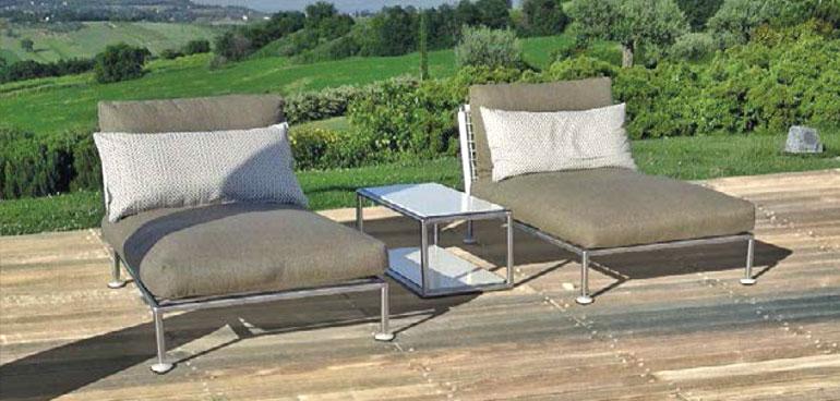 Arredamento da giardino tognoni tendaggi poggibonsi siena for Giardini arredo esterno